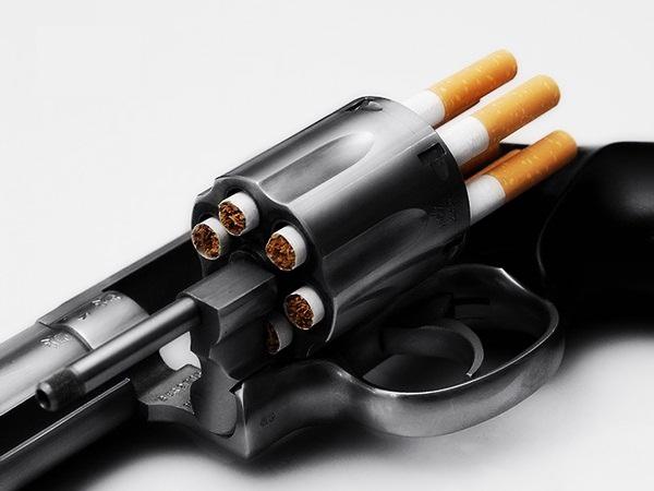 Los cigarrillos, más letales que las balas