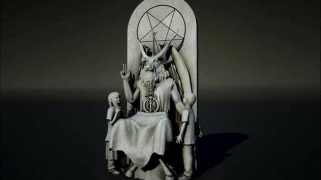 estatua satanica