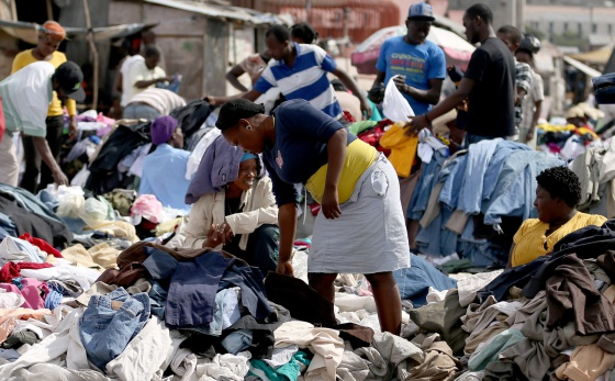 haiti, Mercado de Ropa